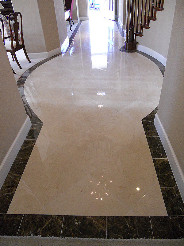 Marble polishing Gilroy after restoration