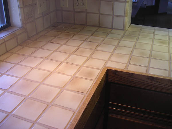 Grout colorant after sealing