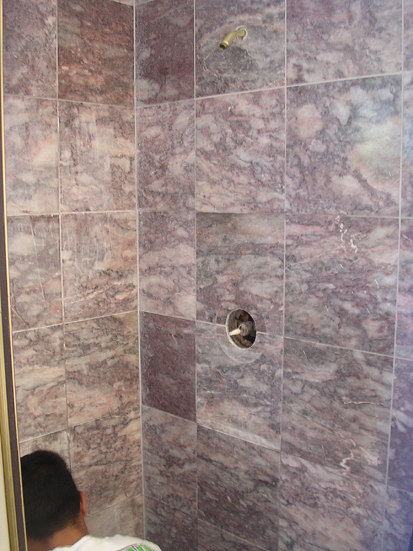 Marble polishing gallery san jose los gatos saratoga for How to clean a marble shower